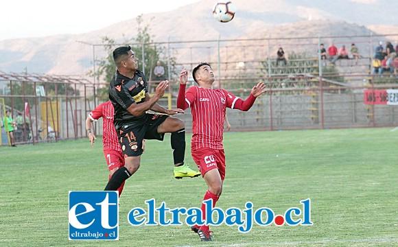Los sanfelipeños superaron por la cuenta mínima a Cobreloa. (Foto: Jaime Gómez)