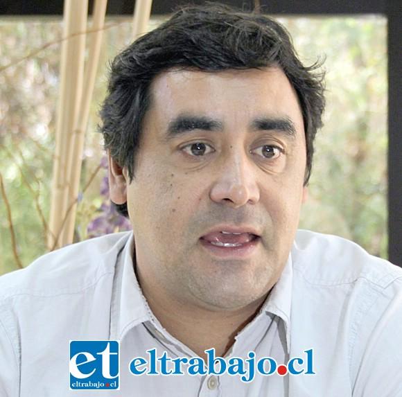 Claudio Paredes, director del Secpla y alcalde subrogante. (Archivo)