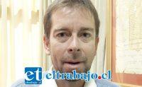 Pablo Silva, director de la Dideco de la Municipalidad de San Felipe.