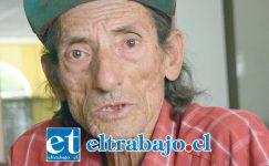 Raúl Pérez, paciente del Hospital San Camilo que asegura fue discriminado por un médico.