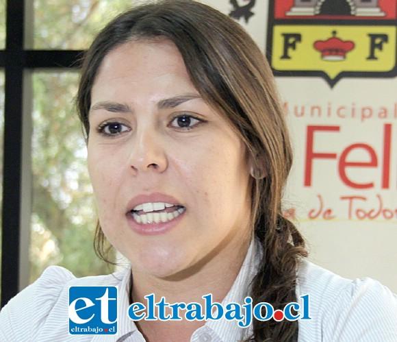 Macarena Vargas, coordinadora de Turismo de la Municipalidad de San Felipe.