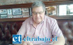 Rolando Stevenson Velasco, Consejero Regional provincia de San Felipe de Aconcagua.