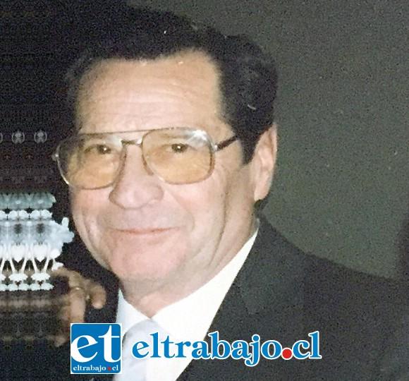 Juan Rojas Polloni, nació el martes 9 de julio de 1929 en Santiago, falleció el viernes 8 de febrero de 2019, en San Felipe.