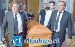ADIÓS DON JUAN.- Los funerales de don Juan Rojas Polloni se realizaron ayer domingo en El Almendral, las muestras de cariño no faltaron para dar el Último Adiós a quien fuera declarado 'Ciudadano Ilustre' de nuestra ciudad.