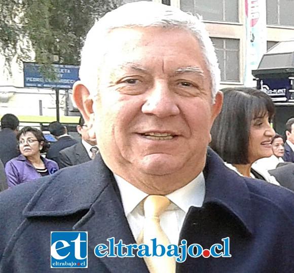Actual presidente de Rotary San Felipe, Ricardo Silva Rodríguez.
