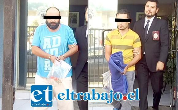 Los imputados fueron sometidos a control de detención este viernes en el Juzgado de Garantía de San Felipe, uno de ellos quedó en Prisión Preventiva.