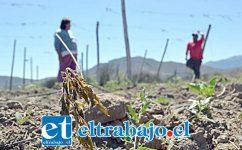 La escasez hídrica es un tema que está causando bastante problemas en las comunas del valle de Aconcagua.