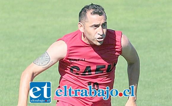 Cristián Muñoz es uno de los jugadores más importantes del actual plantel de Unión San Felipe.