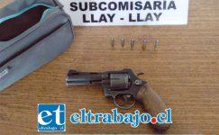 El 29 de octubre de 2017, carabineros de la Subcomisaría de Llay Llay capturaron al actual sentenciado manteniendo en su poder un arma de fuego calibre 38 y municiones del mismo calibre.