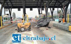 El lamentable accidente ocurrió en horas de la madrugada de ayer domingo en el Peaje ubicado en la Ruta 60 CH de la comuna de Panquehue.