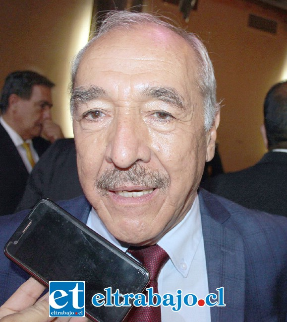Alcalde sanfelipeño, Patricio Freire.