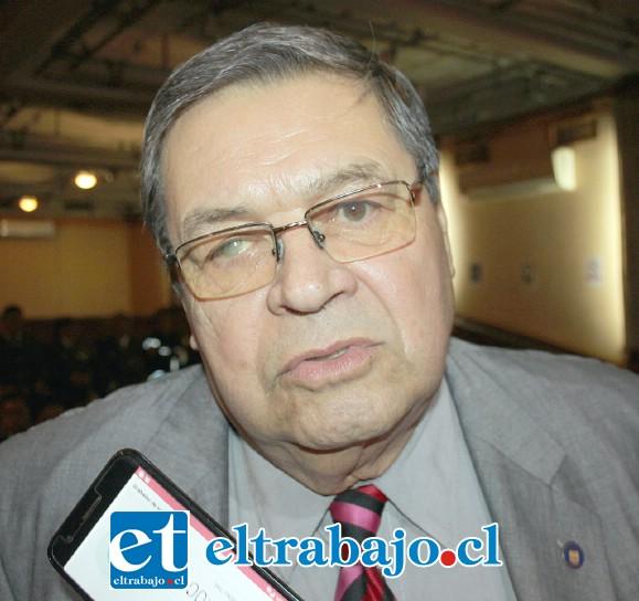 Consejero Regional, Rolando Stevenson.