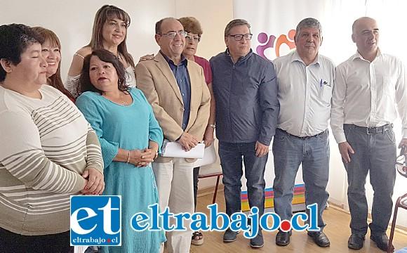 La gestión fue realizada por el gobernador Claudio Rodríguez Cataldo, dado al interés de las Unco en mejorar la calidad de vida de las organizaciones sociales.