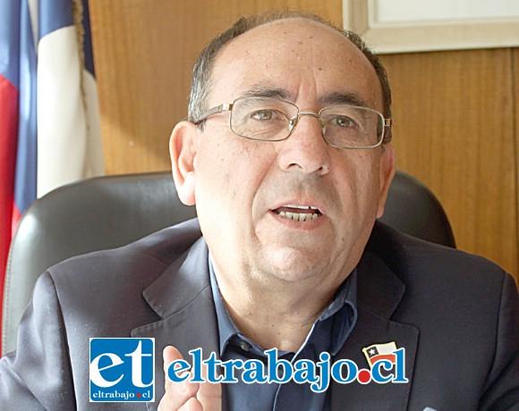Claudio Rodríguez Cataldo, gobernador de la provincia de San Felipe.