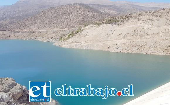 La autoridad provincial confirmó que el Embalse Chacrillas cuenta ahora con suficiente agua para el trabajo de la agricultura familiar y el consumo humano.