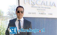 Eduardo Fajardo de la Cuba, fiscal a cargo del caso.