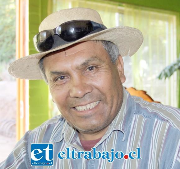 Luis Hernán Villalobos, vecino de Las Cabras y ahora héroe local.