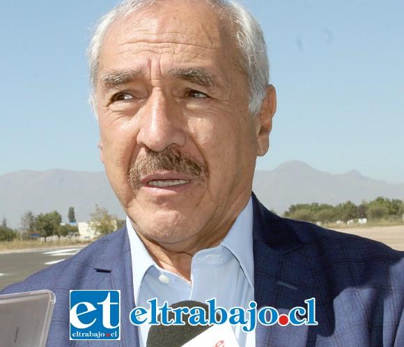 Patricio Freire Canto, alcalde de la comuna de San Felipe.