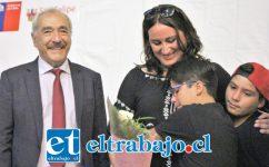 En la ocasión también se destacó a Karen Rozas Pérez, ya que en ella se visualizan los valores de dedicación y entrega como madre y trabajadora.