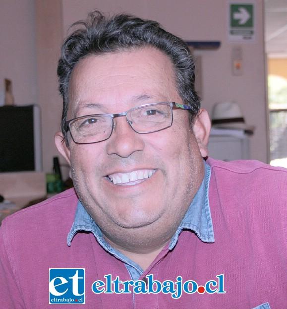Secretario general de la Asociación de Rodeo San Felipe de Aconcagua, Oscar Silva Pérez.