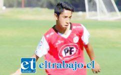 El joven futbolista es integrante de los cadetes de la Sub 17 en Unión San Felipe y jugador a préstamo en el San Luis de Quillota.
