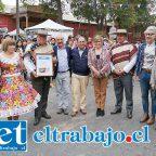 Las autoridades de nuestra comuna participaron activamente durante los dos días de fiesta en El Almendral.