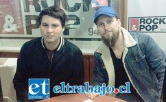 A la izquierda el realizador sanfelipeño Bernardo Quesney, quien dirigirá esta nueva producción. (Foto archivo).