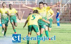 Unión Delicias de San Felipe celebra su paso a los cuartos de final de la Copa de Campeones. (Foto: Jorge Ampuero).
