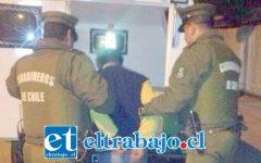 El imputado fue detenido por Carabineros en horas de la madrugada del 21 de octubre del 2018. (Foto Archivo).