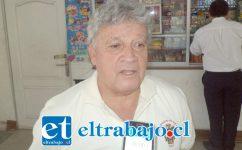 Hernán González Figari, administrador del terminal de buses San Felipe.