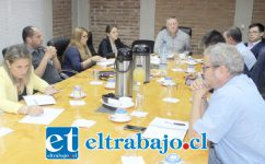 El alcalde Luis Pradenas Morán informó a los integrantes de la Mesa Hídrica que enviará al presidente Sebastián Piñera, un oficio solicitando que se reconsidere proyecto embalse Puntilla Del Viento.