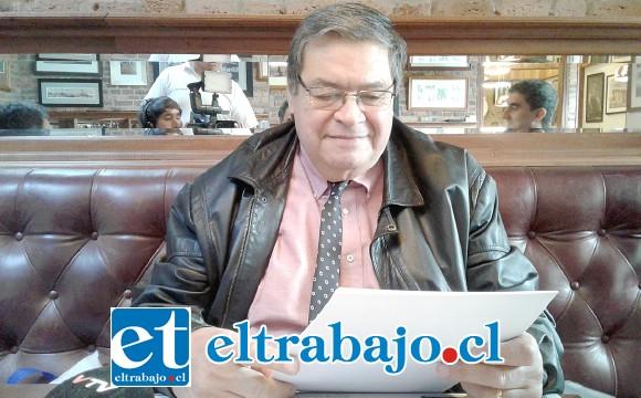 Rolando Stevenson Velasco, Core que hace la denuncia pública a nombre de la afectada.