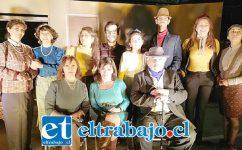 ELENCO DE LUJO.- Ellos son el flamante elenco actoral que actuará este fin de semana en la obra 'Un Enemigo del pueblo', en Villa Escuadra-Argelia.