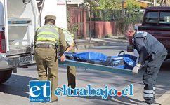 ATROPELLADA Y ABANDONADA.- La muerte de doña María Luz causó y sigue generando gran consternación en todo el Valle de Aconcagua.