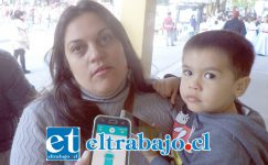 Jenifer Ortega, presidenta de la Junta de Vecinos Portal Aconcagua.