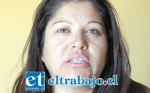 Pamela Osorio, abuela del niño en problemas.
