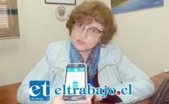 Marcela Brito, directora del Departamento de Salud Municipal de San Felipe.