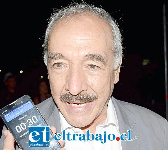 Patricio Freire, alcalde de San Felipe.