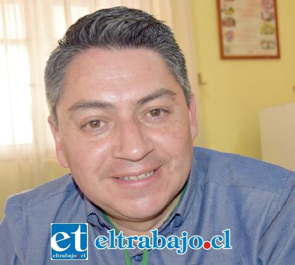 Jaime Vásquez Cárcamo, profesional de apoyo Senda Previene San Felipe.