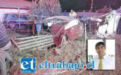 El fatal accidente ocurrió en horas de la madrugada de este viernes en la Ruta E-71 en Putaendo.