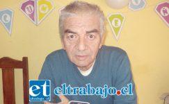 Patricio Jofre, dirigente social que necesita la ayuda de la comunidad.
