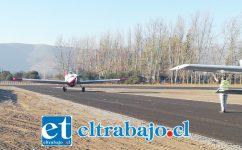 MILLONARIA GESTIÓN.- Esta iniciativa fue una gestión de la administración del alcalde Patricio Freire y que ejecutada por la Dirección de Aeropuertos del MOP.