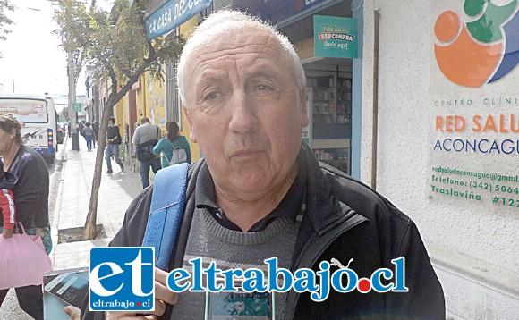 El profesor Víctor 'Sapito' Andrade se encuentra pasando por complicados momentos en su salud.