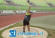 El lanzador sanfelipeño se impuso en el lanzamiento de la Bala y el Disco.