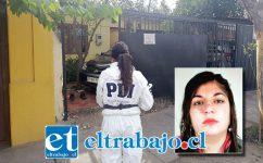 En el interior de este domicilio ubicado en calle 5 de Abril N° 131 en San Felipe, ocurrió la violenta riña protagonizada por la pareja.