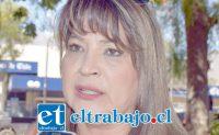Ruth Delgado, presidenta de la Unión Comunal (UNCO) de Juntas de Vecinos de San Felipe.