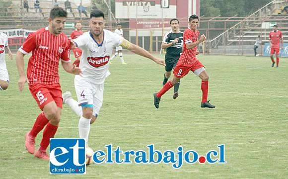 Unión San Felipe fue dominante de principio a fin en el duelo del sábado frente a Melipilla.