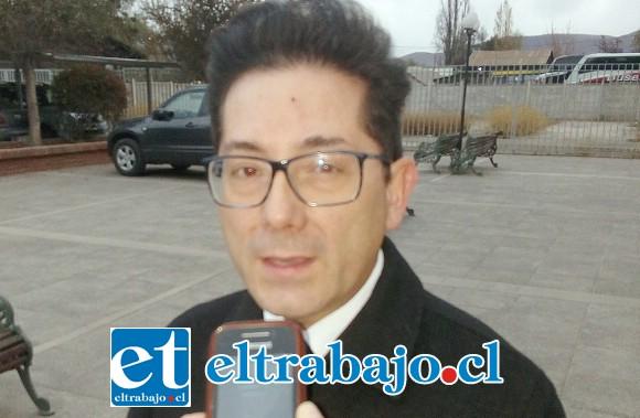 Fiscal Andrés Gallardo.