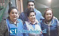 FUERZA SOLIDARIA.- Aquí tenemos a varios colaboradores en esta causa, entre ellos la concejala María Cristina Meza.