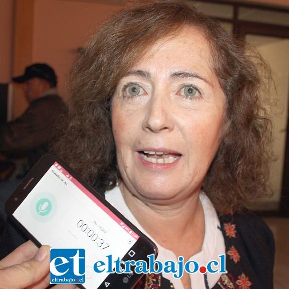 María Ester Maldonado Mancilla, madre agradecida.